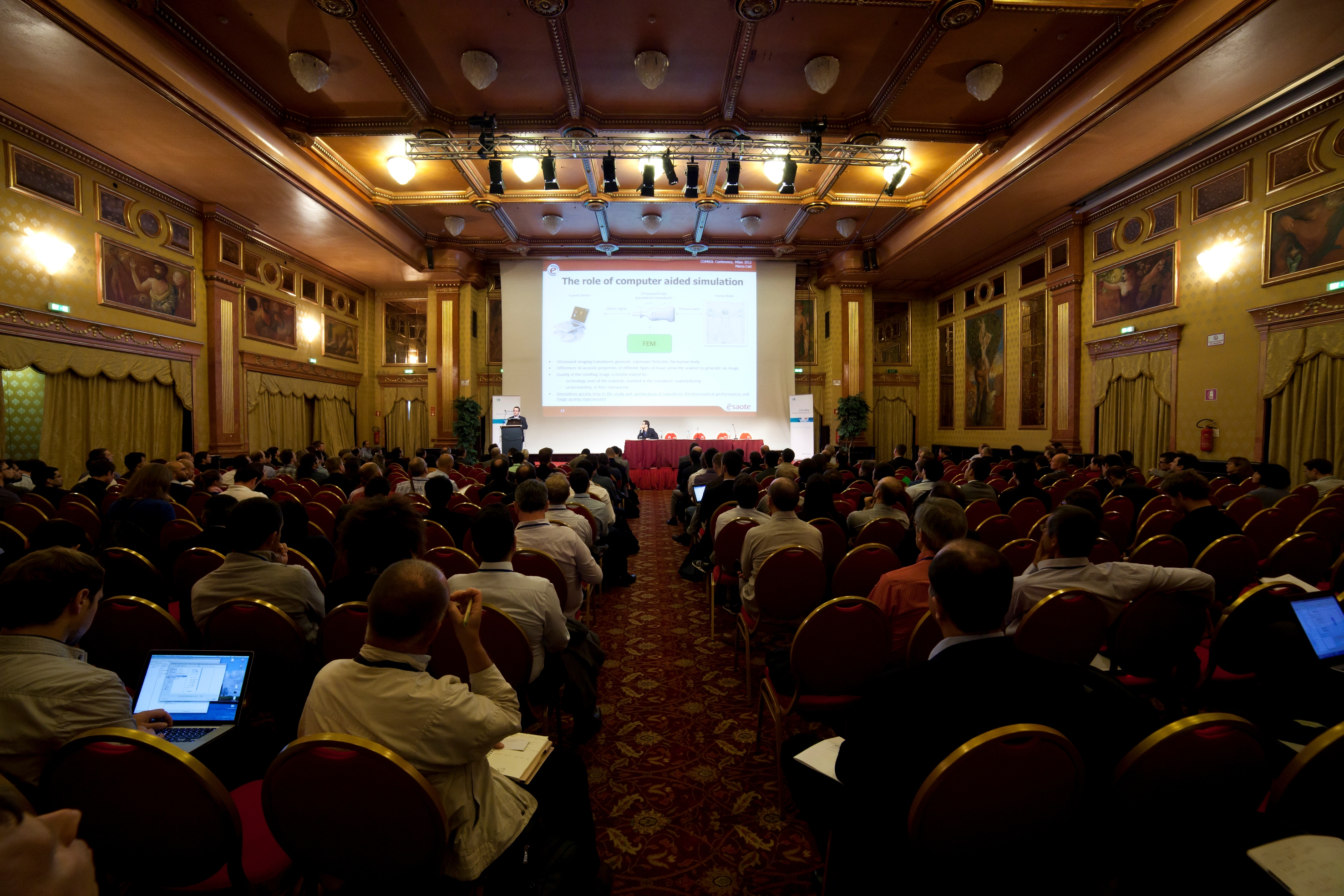 Presentation at European COMSOL Conference 2012