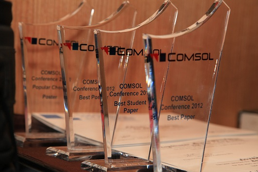 COMSOL Conference 2012 Bangalore Awards