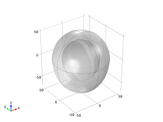 Equation-based modeling: Model geometry of a heart