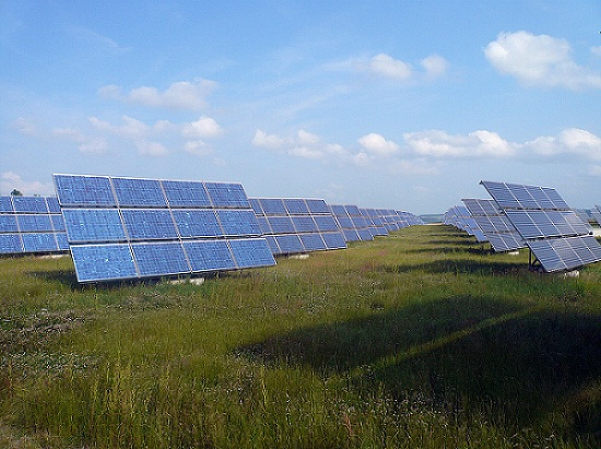 Erlasee Solar Park, a photovoltaic power station in Germany