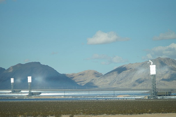 Ivanpah Thermal Power Station, the world's largest solar power plant