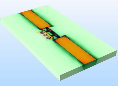 Tutorial Model of a Low-Pass Filter with Lumped Elements