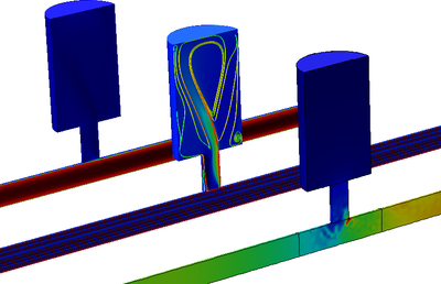 helmholtz resonator with flow a multiphysics tutorial model. Black Bedroom Furniture Sets. Home Design Ideas