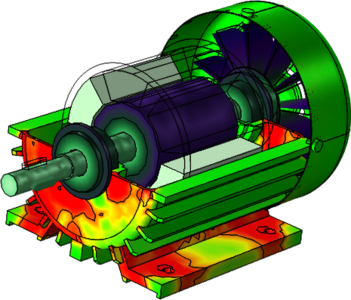 Tutorial Model of Vibration in an Induction Motor