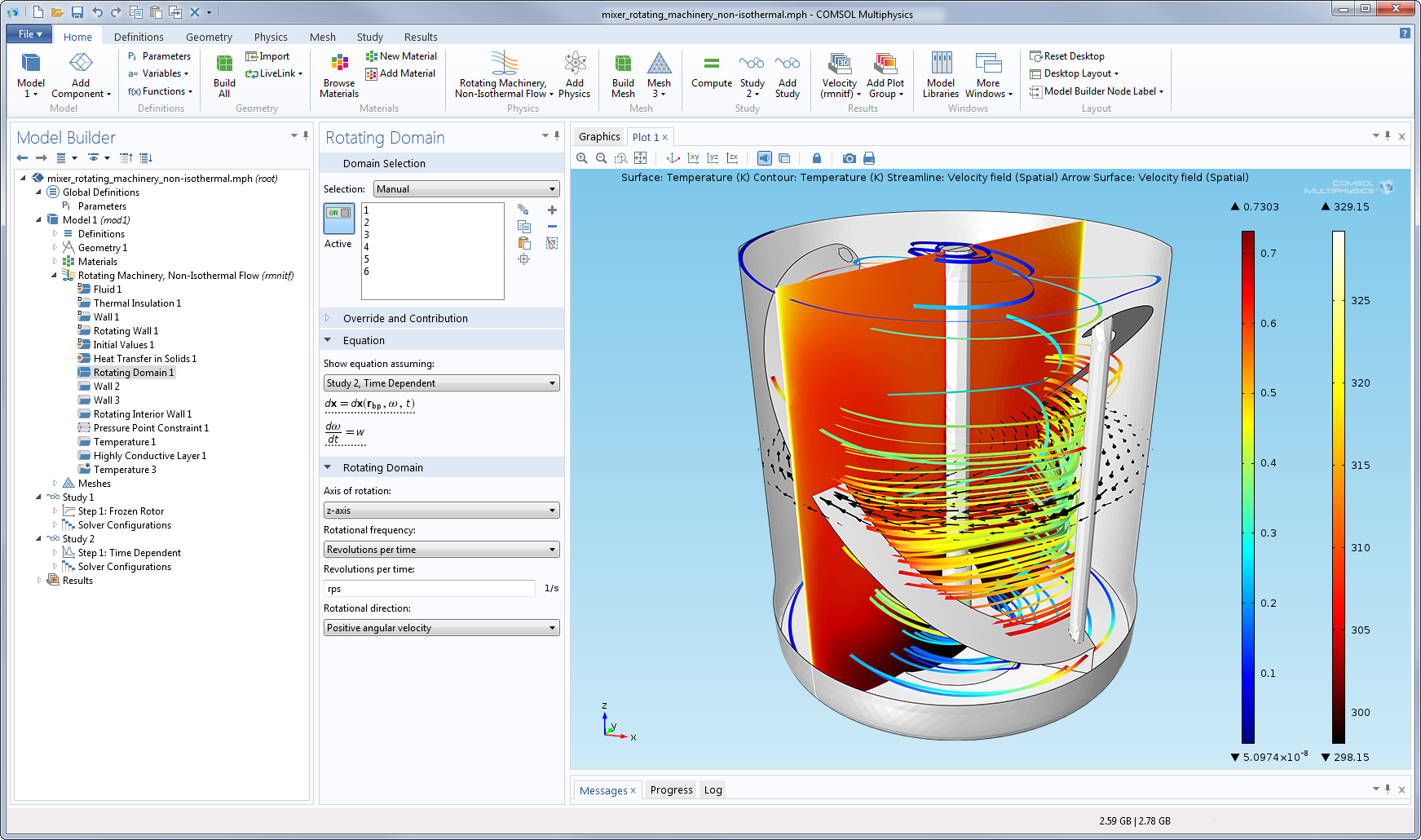 image gallery comsol multiphysics version 4 4