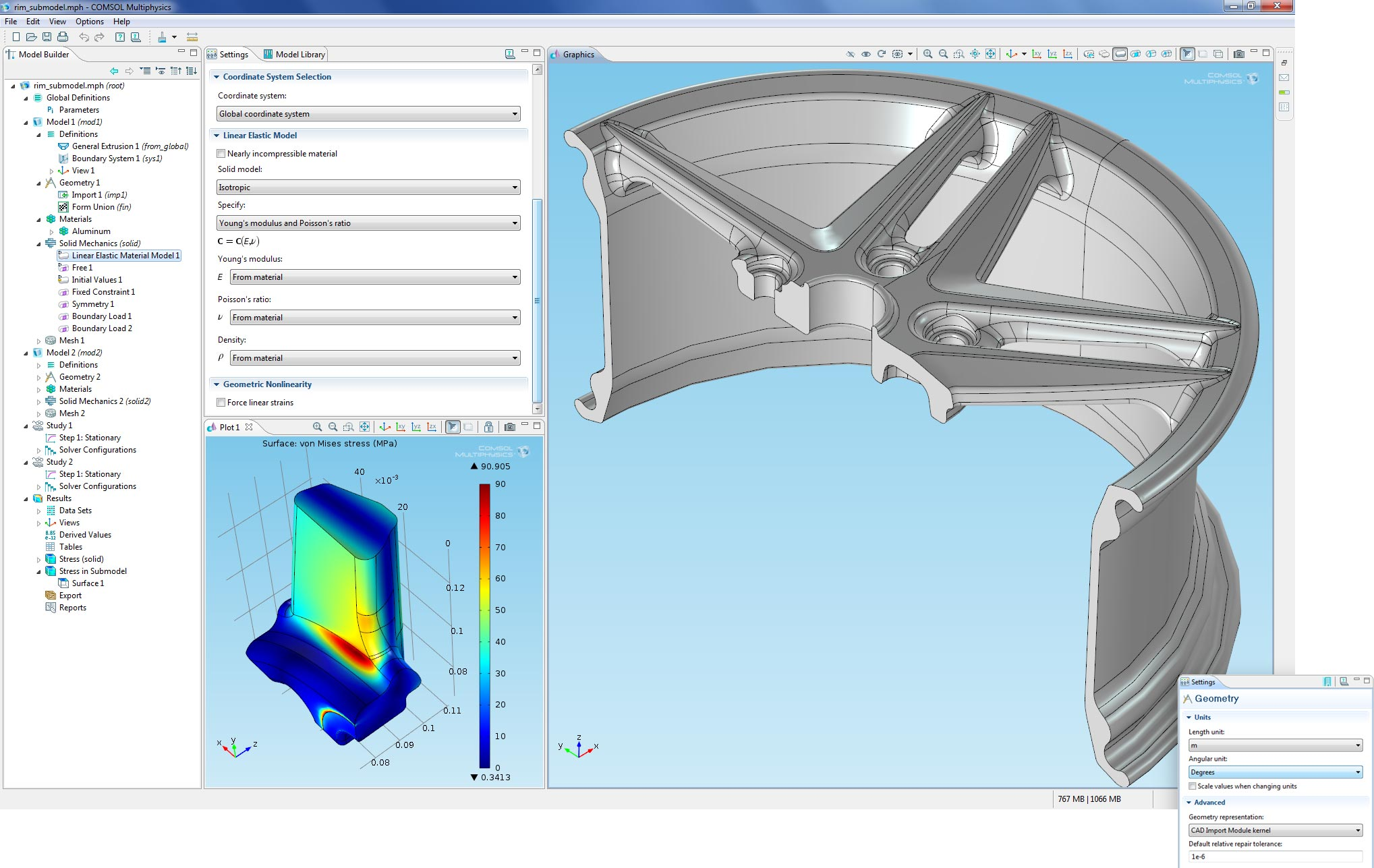Image Gallery : COMSOL Multiphysics Version 4 2a