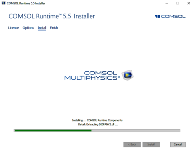 COMSOL Runtime™ Installer