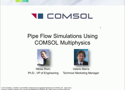 COMSOL TUTORIAL 6 3D PIPE FLOW - YouTube